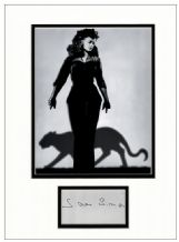 Simone Simon Autograph Signed Display - Cat People